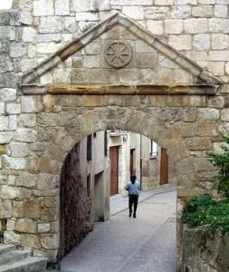 Portal de Castilla en Estella