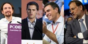 Pablo-Iglesias-Albert-Rivera-Pedro-Sanchez-y-Mariano-Rajoy