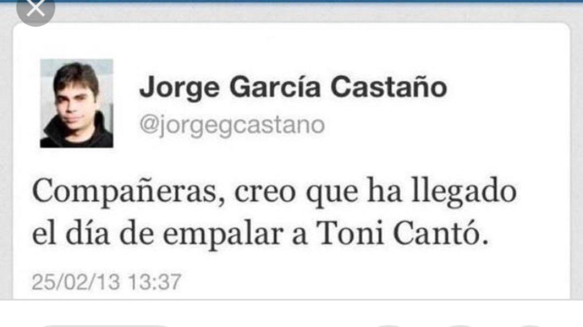 Llega a Madrid Jorge García Castaño, el Empalador