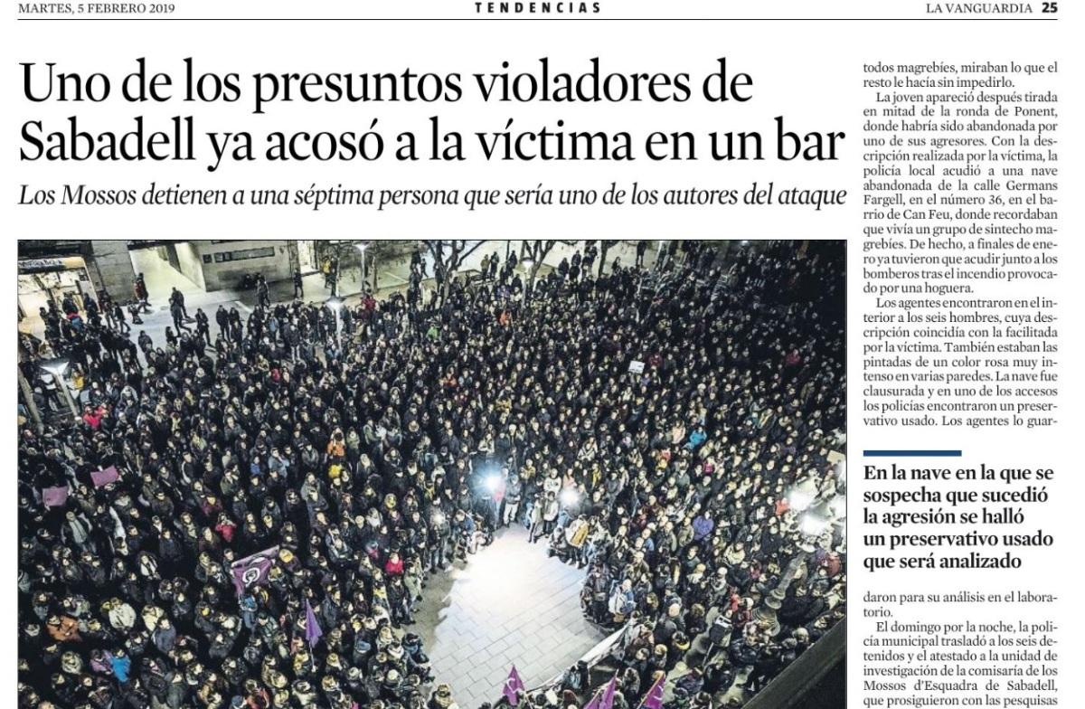 """Lo que nos ocultan de la """"manada"""" de Sabadell"""